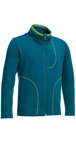 Icebreaker Kids Camper LS Zip Night/Balsam
